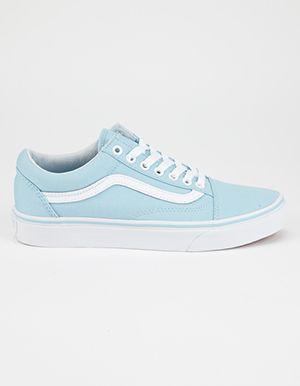 chaussures vans bleu clair