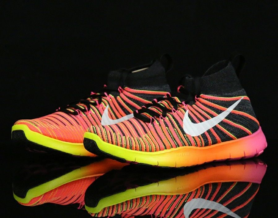 b27edeb7dc6a New Nike Men s Free Train Force Flyknit Athletic Snickers Shoes Sz US 7    EUR 40