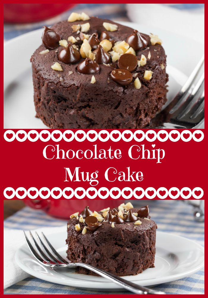 You're gonna love this recipe for Chocolate Chip Mug Cake ...