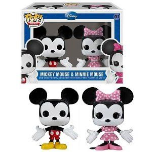 Funko Mini Pop Figures - Mickey and Minnie Mouse,$10.48