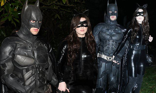 Liam Payne suits up as Christian Bale's iconic Batman #liampayne