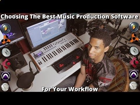 VIDEO: The Best Music Production Software For Beginners - YouTube