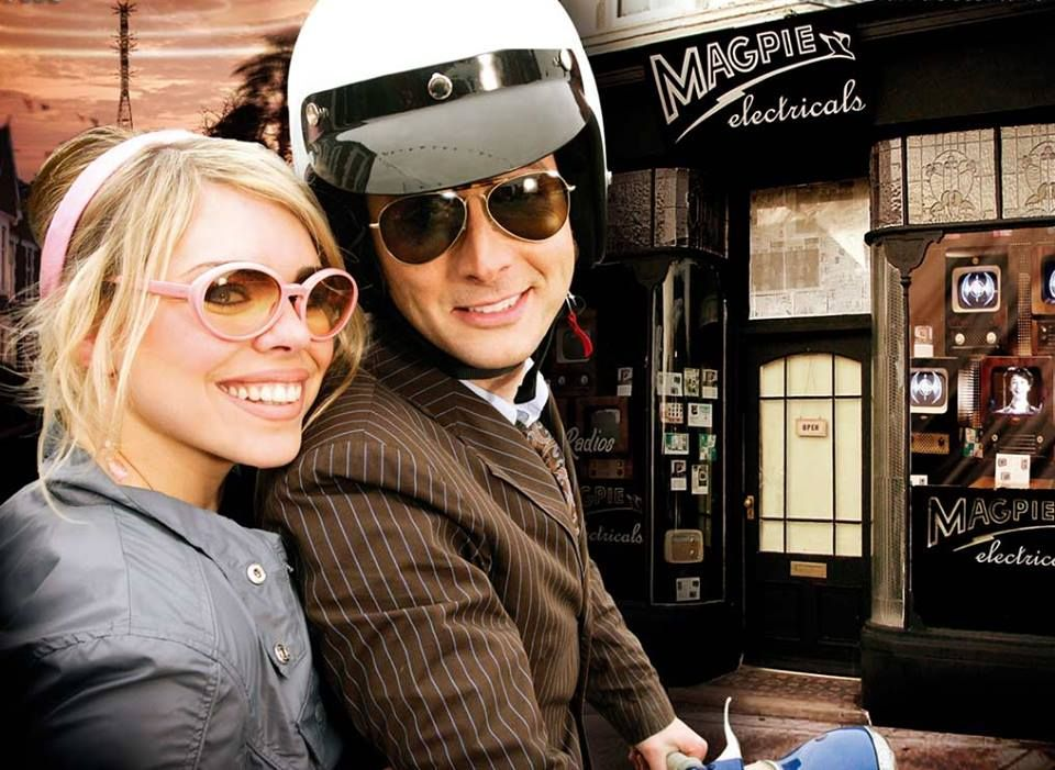 PHOTO OF THE DAY - 15th January 2015:   David Tennant and Billie Piper in Doctor Who: The Idiot's Lantern - 2006
