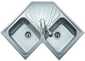 Fregadero teka angular 2c ref 10118001 cocina for Lavaplatos para esquinas
