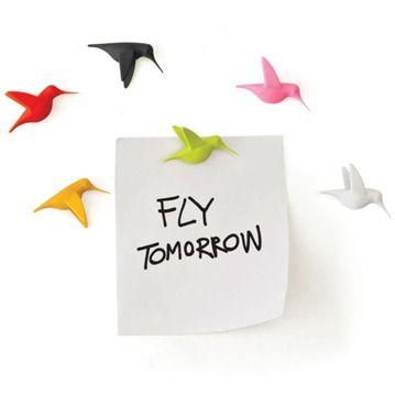 Sprida glädje i ditt hem med kolibri-magneter glada ...