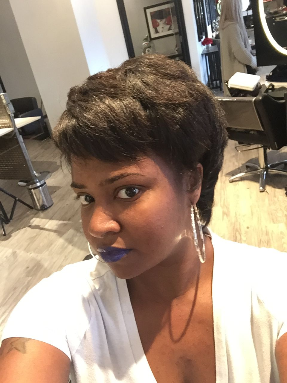 Flat Iron Hairstyles For Short Natural Hair   These Will ...