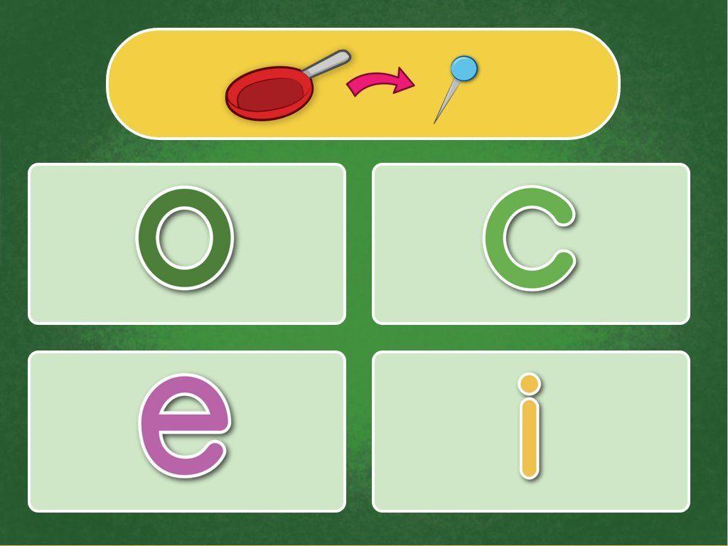 Letter Swap Quiz Reading Game Phonics games online
