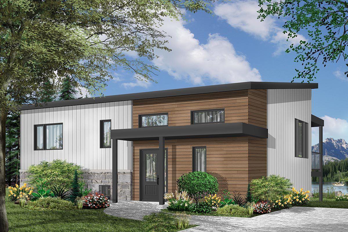 Split Level Modern House Plan