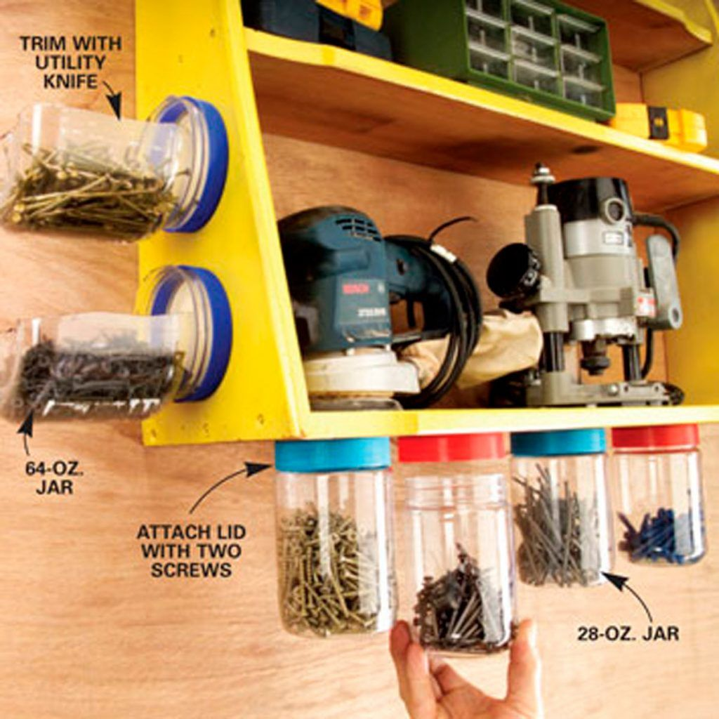 12 Amazing Hardware Storage Containers For Your Workshop