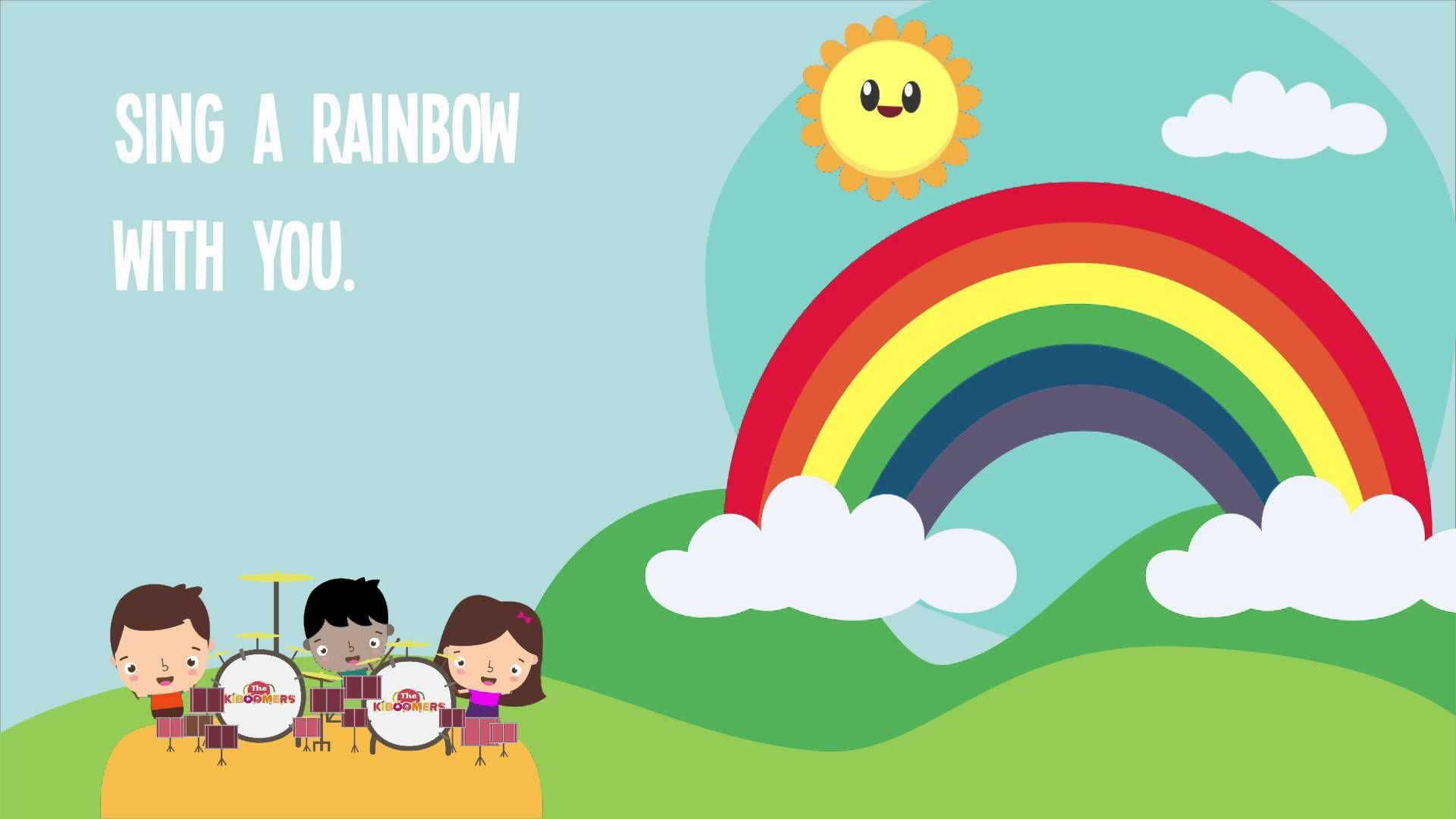 I Can Sing A Rainbow Rainbow Song Song Lyrics Children Song