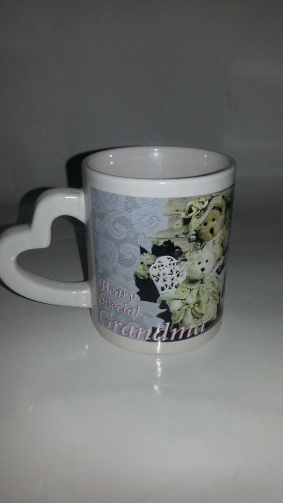 BEARY SPECIAL Grandma   Collectible Coffee Cup Mug grandmother
