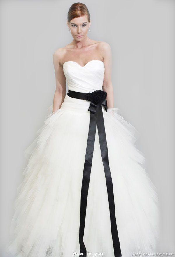 Vestido de novia negro en suenos