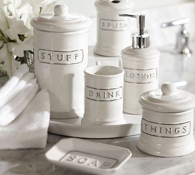 best canisters on canister beautiful furniture farmhouse glass pinterest bathroom ideas