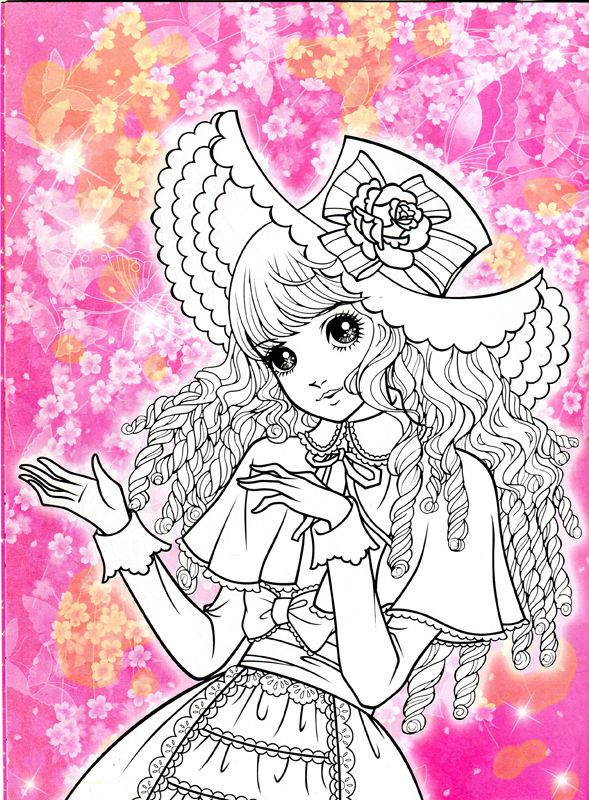 Korean Coloring Book - pink2 - Mama Mia - Picasa Web Albums ...