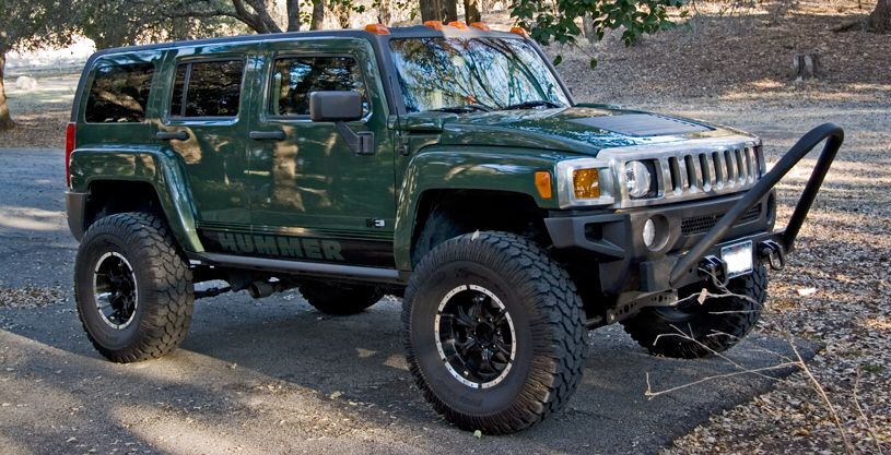 Lifted Green H3 Ideas For The Hummer Hummer Hummer H3 Jeep
