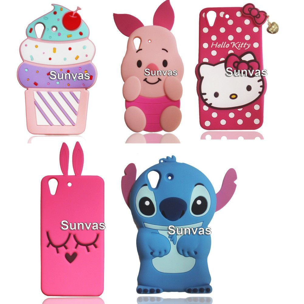 the latest 29a86 df86f 3D Cartoon Animal Soft Silicone Case Back Cover Skin For Huawei Y6 ...