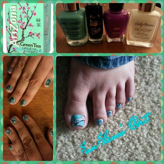 Arizona Nails #cherryblossom