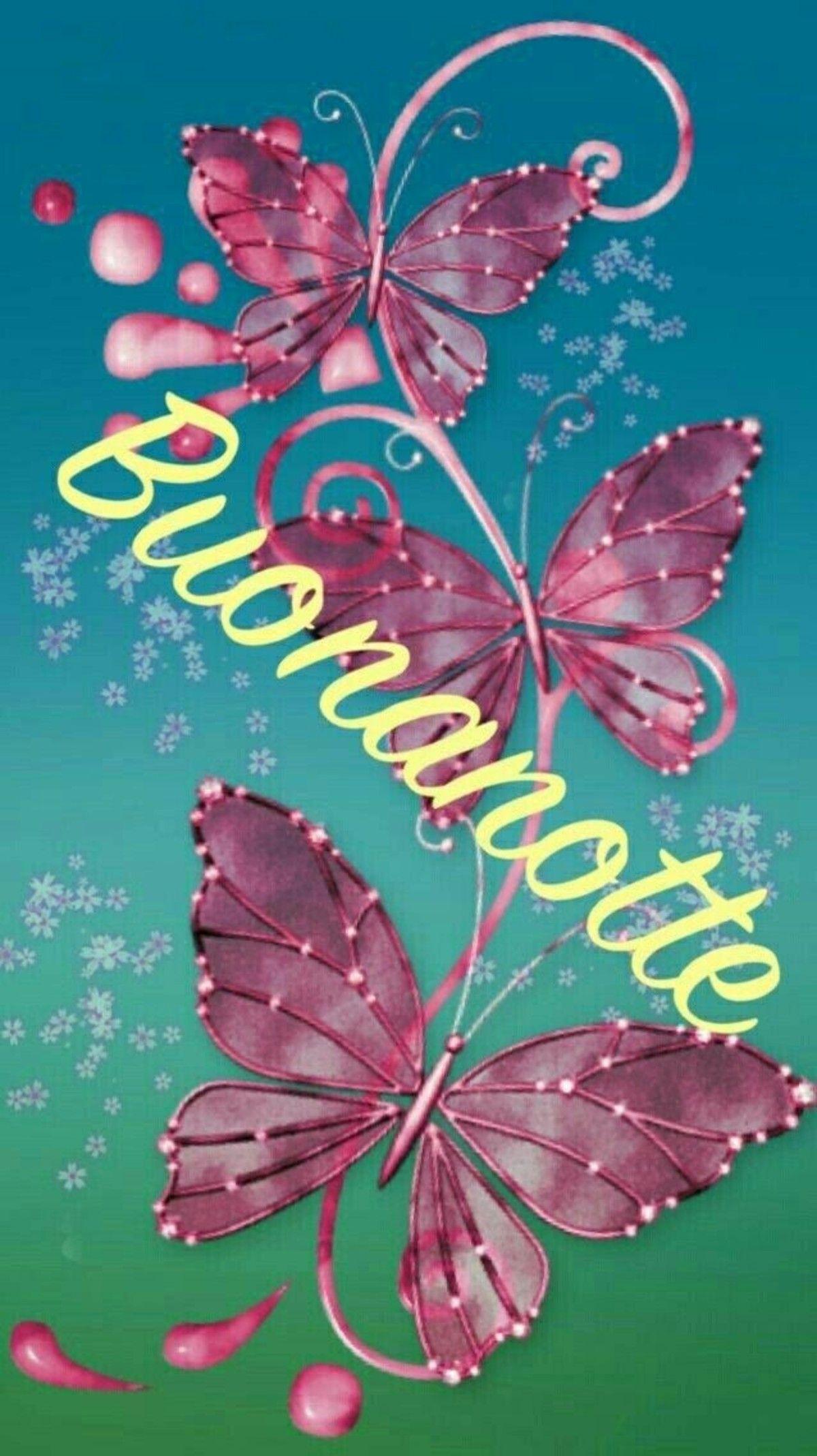 Immagini Della Buonanotte Con Butterfly Painting