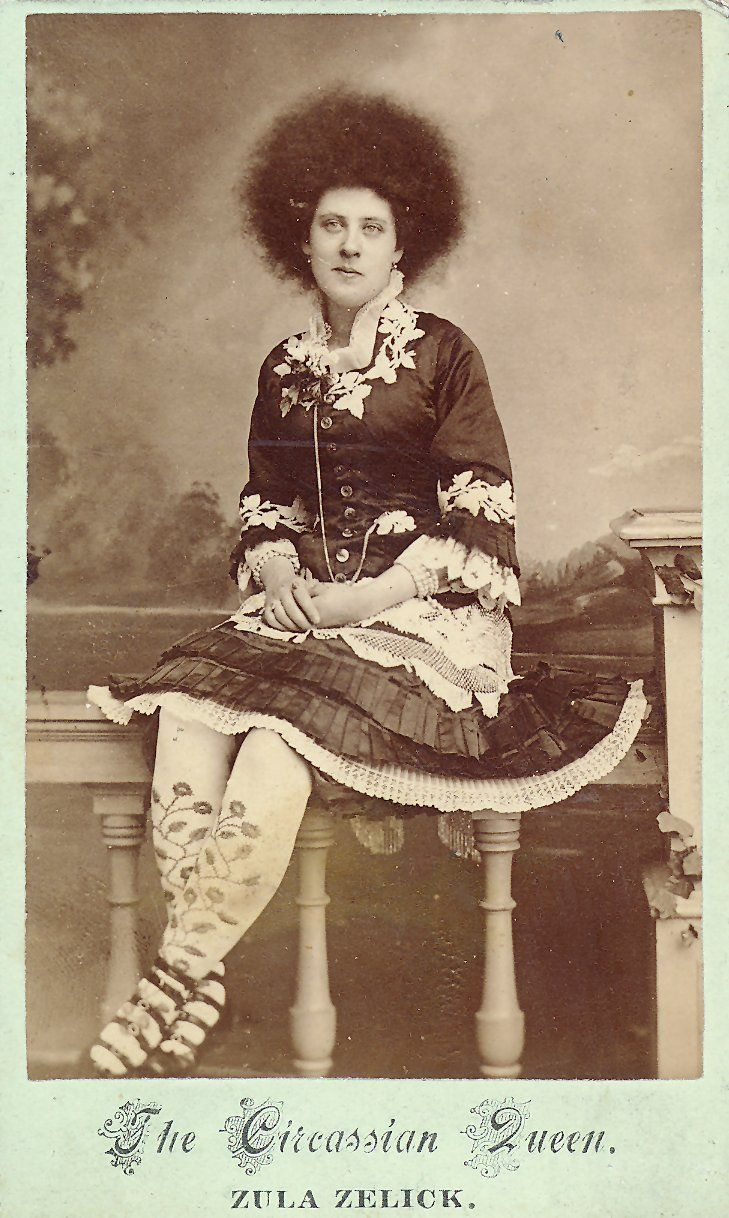 circassian queen, 1880s. i was in a huge pissy mood then saw this