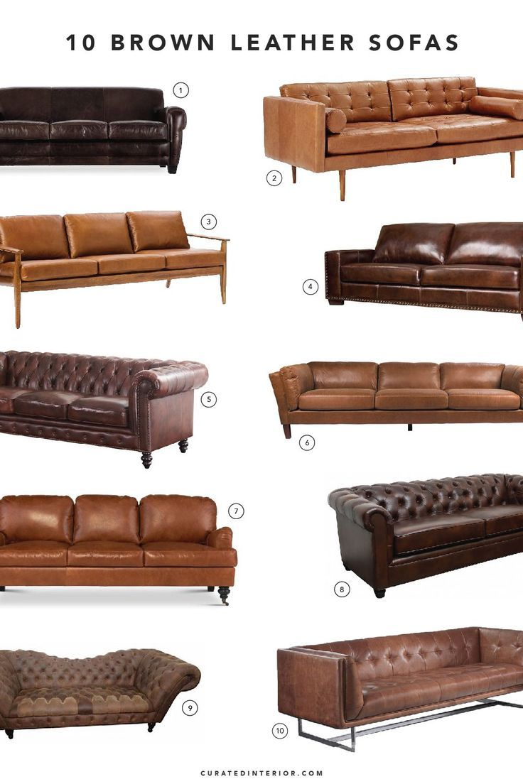 Top Brown Leather Sofas  brown leather sofas  Genel is part of Leather living room furniture -
