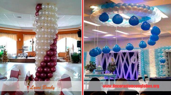 Arreglo con globos 15anosnina cosas que comprar pinterest for Decoracion 15 anos sencilla