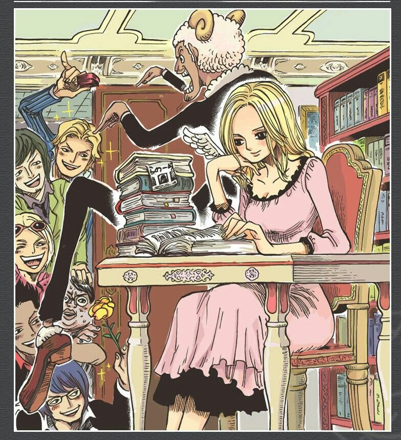 Kaya ||One Piece|| | One piece manga, One piece luffy, One ...