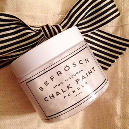 Excited to have this wonderful paint powder in the shop...BB Frosch Chalk Paint Powder