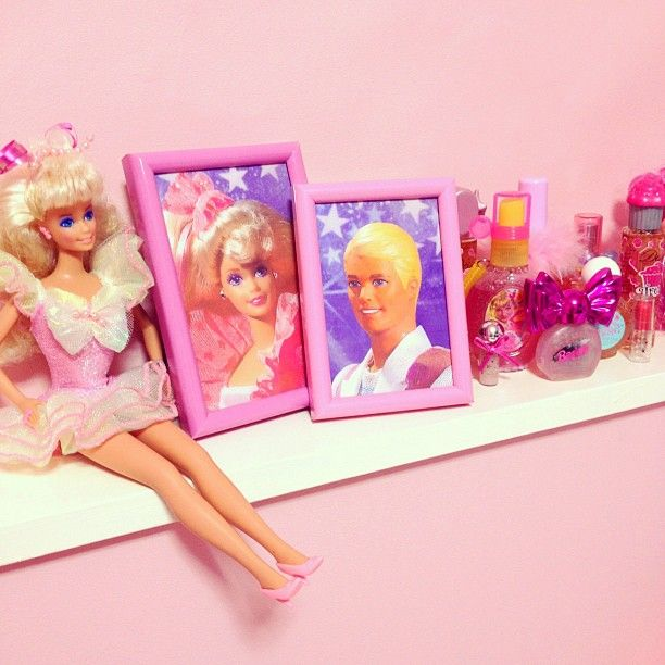 super girly stuff #barbie