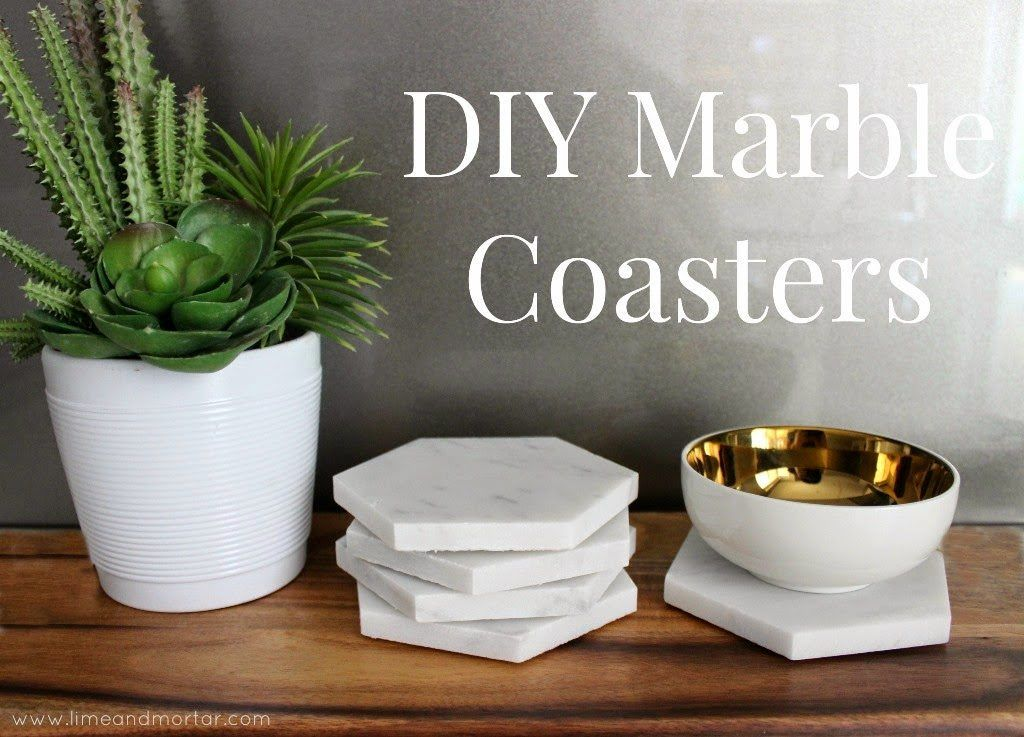 adorable diy home projects ideas. 20 Adorable DIY Coasters That Are Easy To Make  Homesthetics Inspiring ideas for your home Marbles