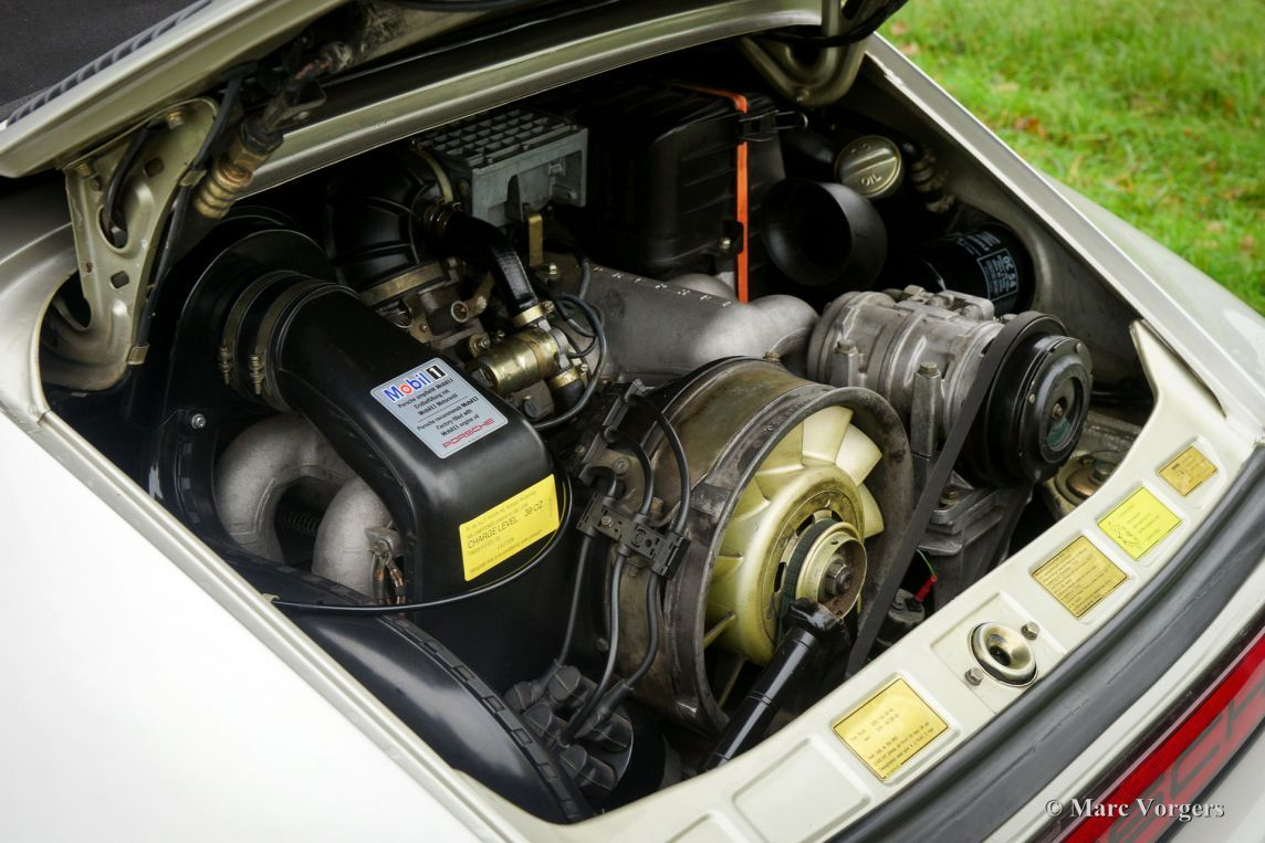 Porsche 911 Carrera 3.2 cabriolet, 1984