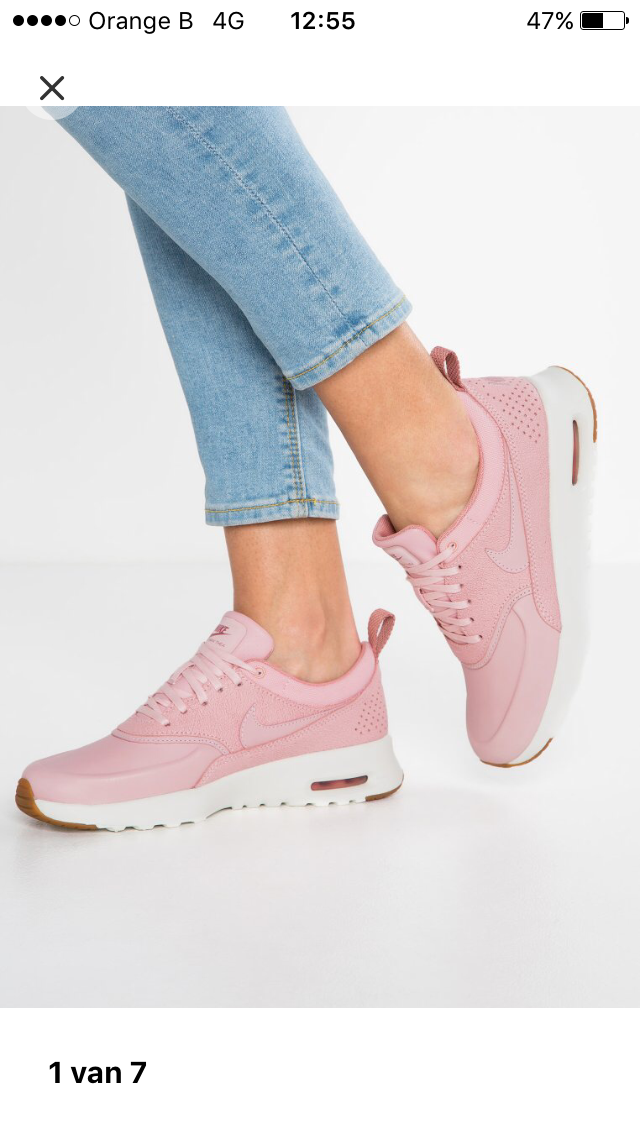 buy popular 84c61 c4851 ... czech zalando.be nike sportswear air max thea prm sneakers laag pearl  pink sail 12995