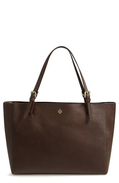 Love this neutral and simple tote which could easily fit a laptop - resumes etc