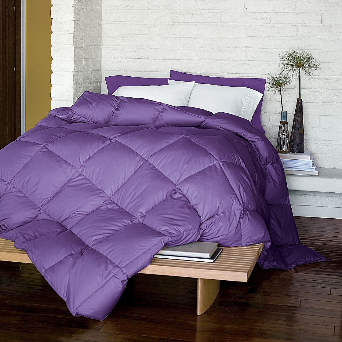 set overstock bath on kathy alternative free bedding product purple down piece over shipping comforter orders reversible ireland home