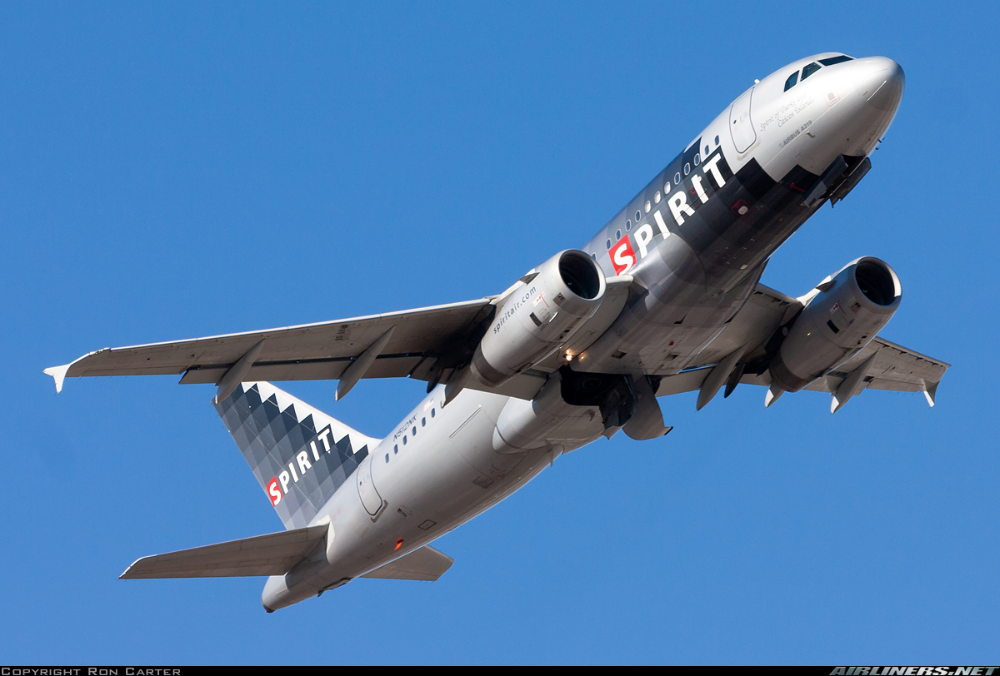 Airbus A319132 Spirit Airlines Aviation Photo