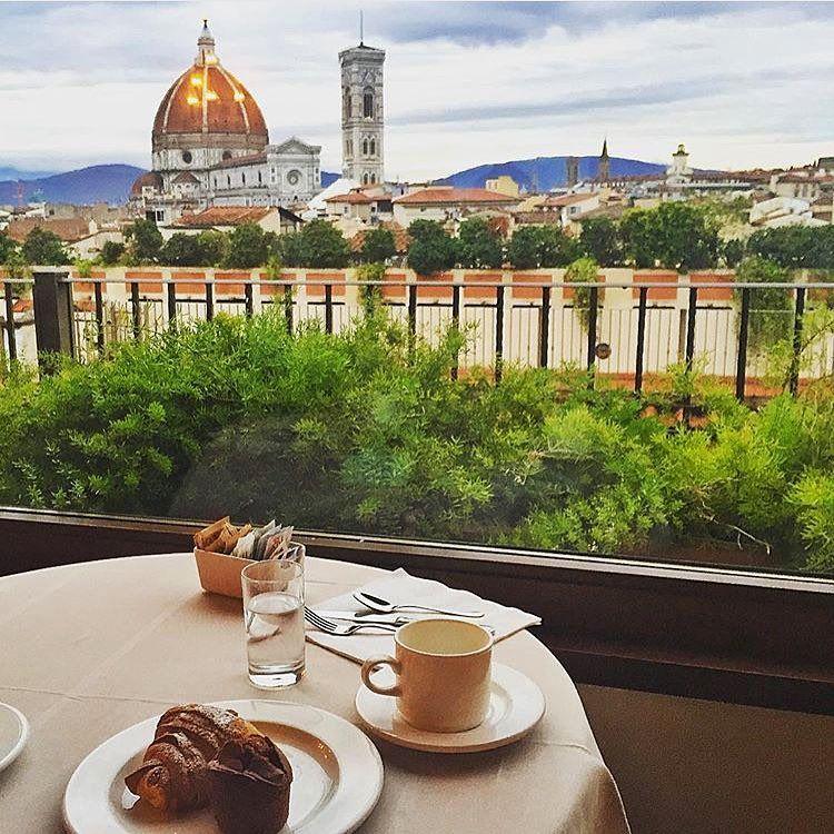 Benessere è Una Prima Colazione Da Terrazza Brunelleschi A