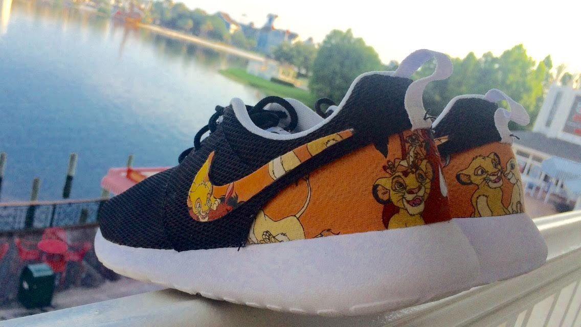 NEW Lion King Custom Nike Roshes