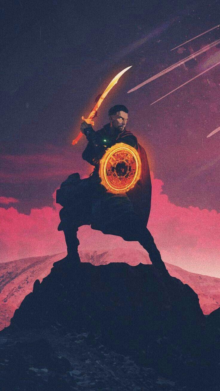 Image Du Tableau Dr Strange De Block Thanos Avengers Fond D Ecran Avengers Merveilleux