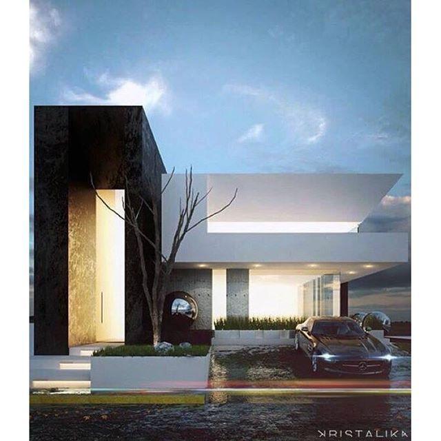 新築住宅の外観アイディア10選 箱型なナウトレンドデザイン: Resultado De Imagem Para Kristalika