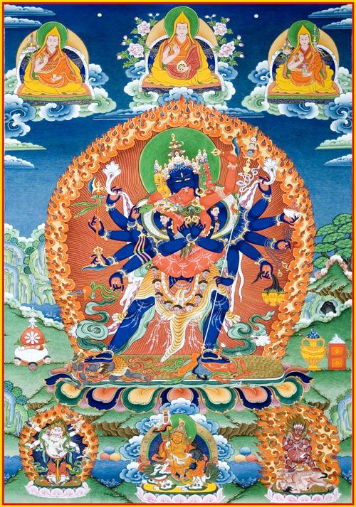 Heruka Root Tantra, First and Last Chapter in 2020 | Buddhist art ...