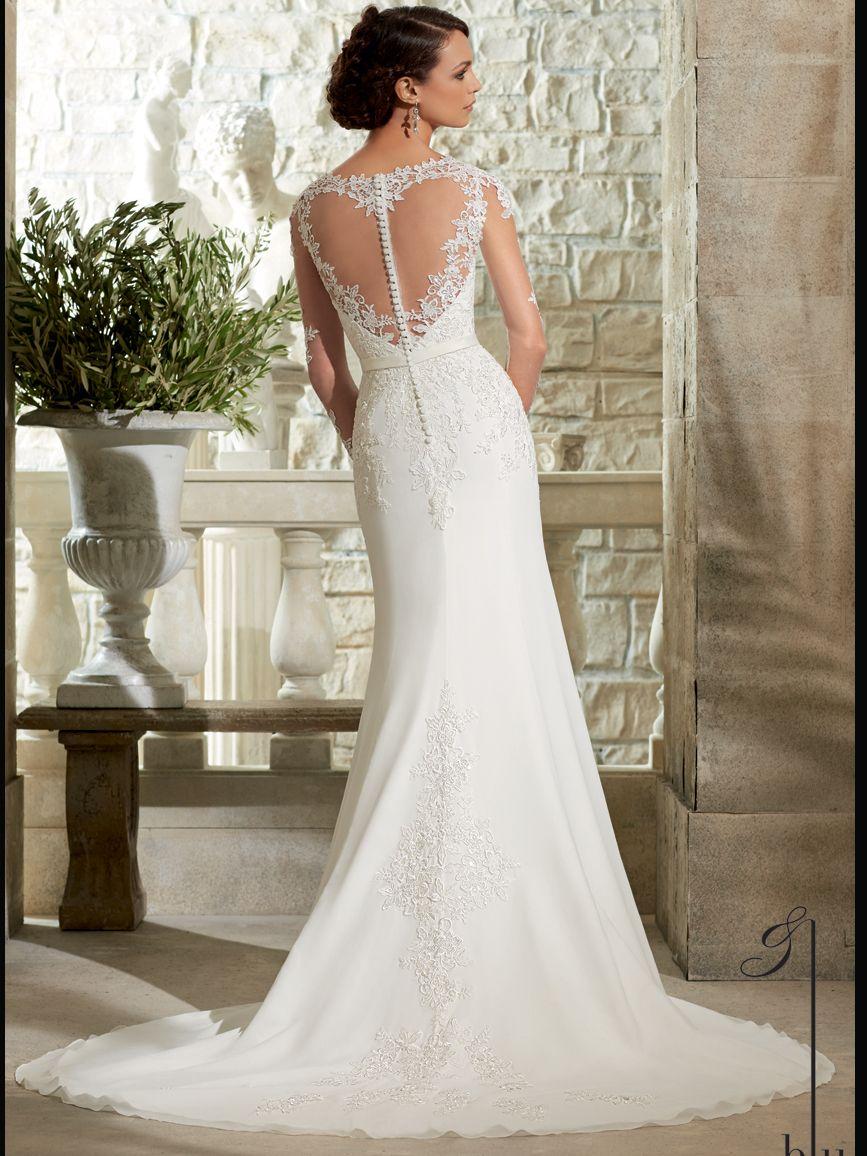 Mori Lee Blu Bridal Gown 5306: DimitraDesigns.com | New Vintage ...