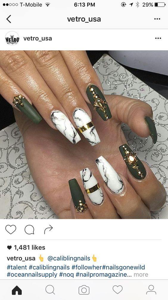 Love the marble look nails pinterest marbles nail nail and dope nails prinsesfo Choice Image