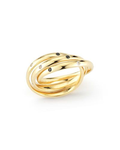 Elizabeth & James Darcy Ring in Metallic Gold kzoI6W