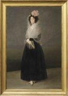 The Countess del Carpio, Marquesa de La Solana | Louvre Museum | Paris Francisco de GOYA Paintings Sully wing 2nd floor Carlos de Beistegui Donation Room A