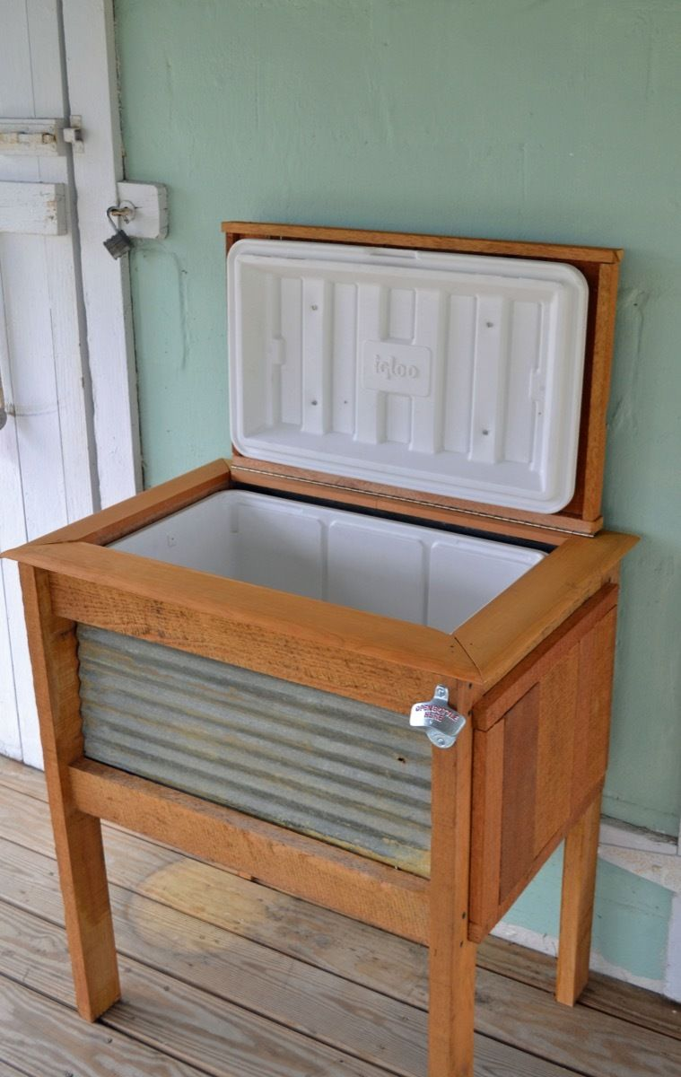 62 diy projects to transform your backyard drink coolers the o