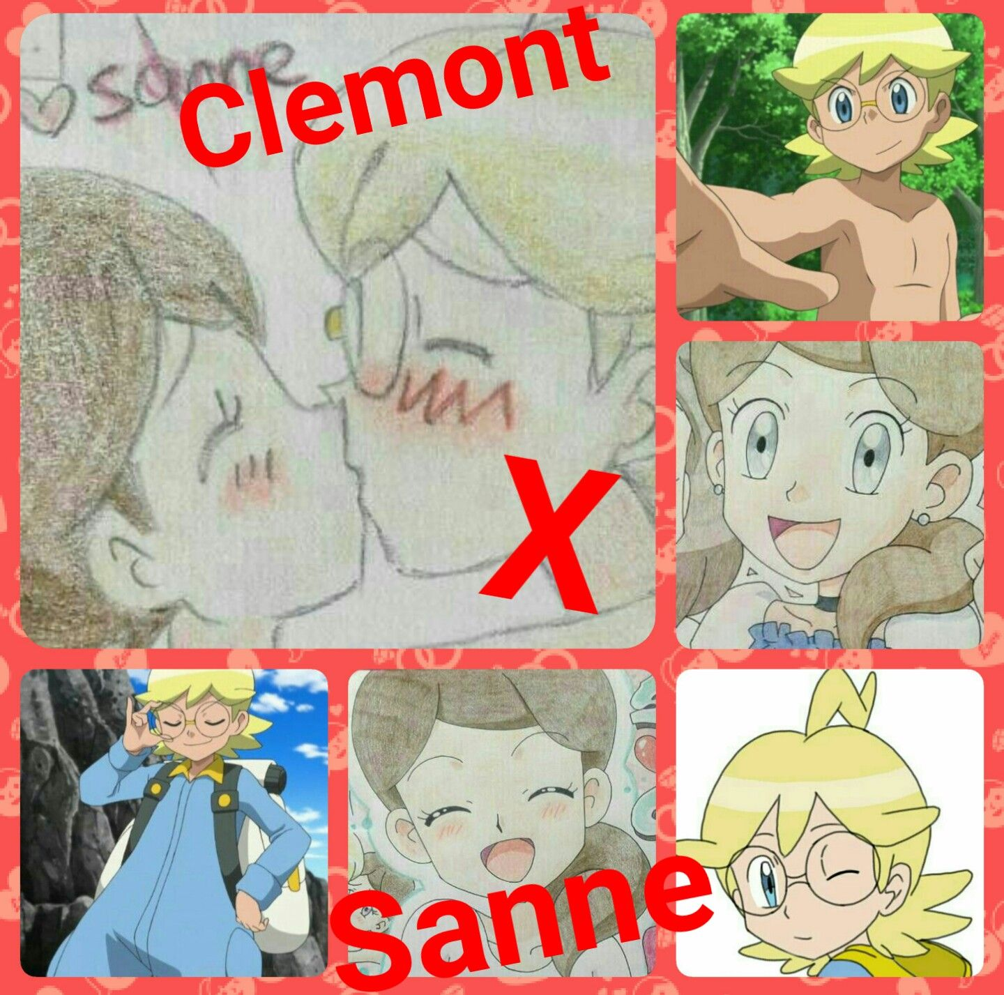 anothet clemont x sanne college by kaitlyn f also anothet clemont x sanne college by kaitlyn f also if you like