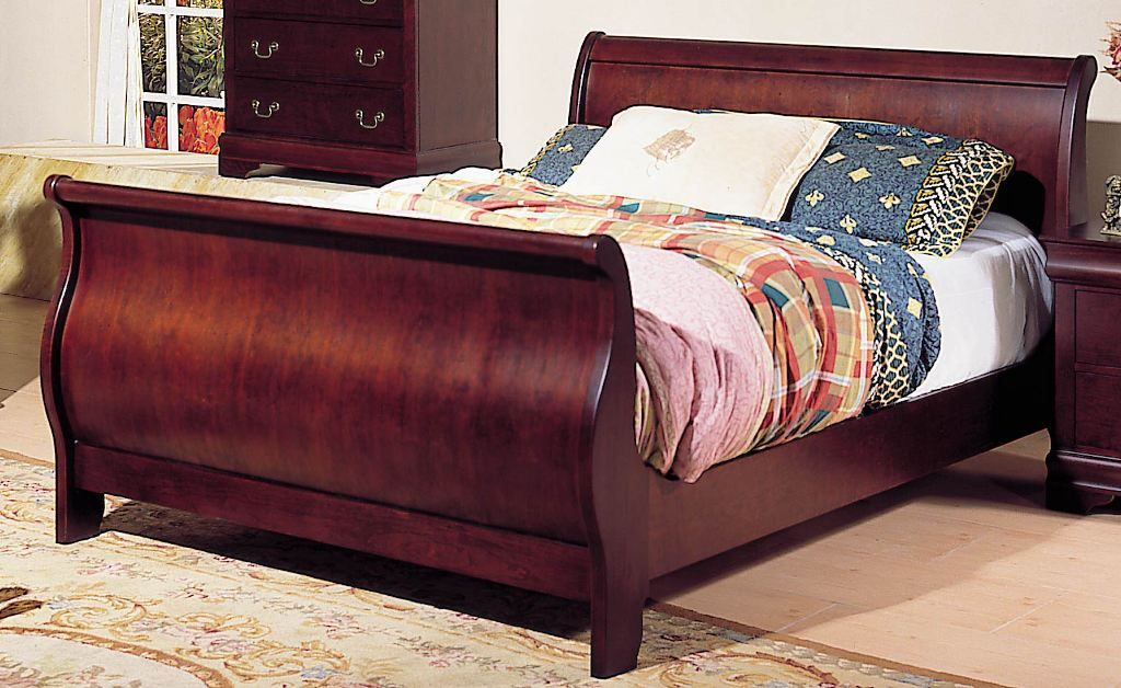 Ethan Allen Sleigh Bed King Sleigh Beds King Size Bed Frame