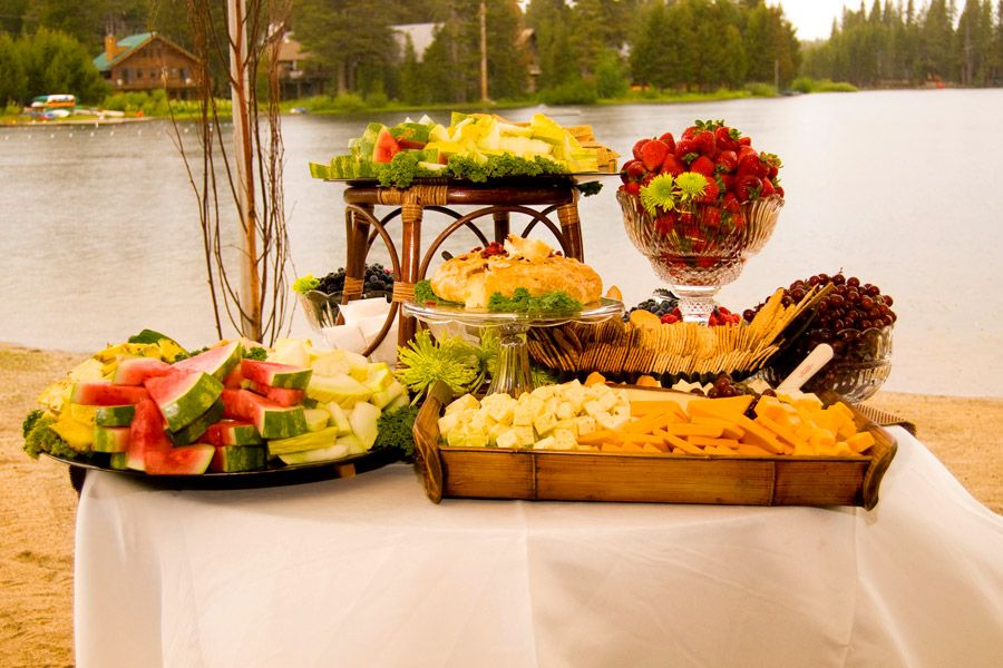 Wedding Appetizer Fruits Idea