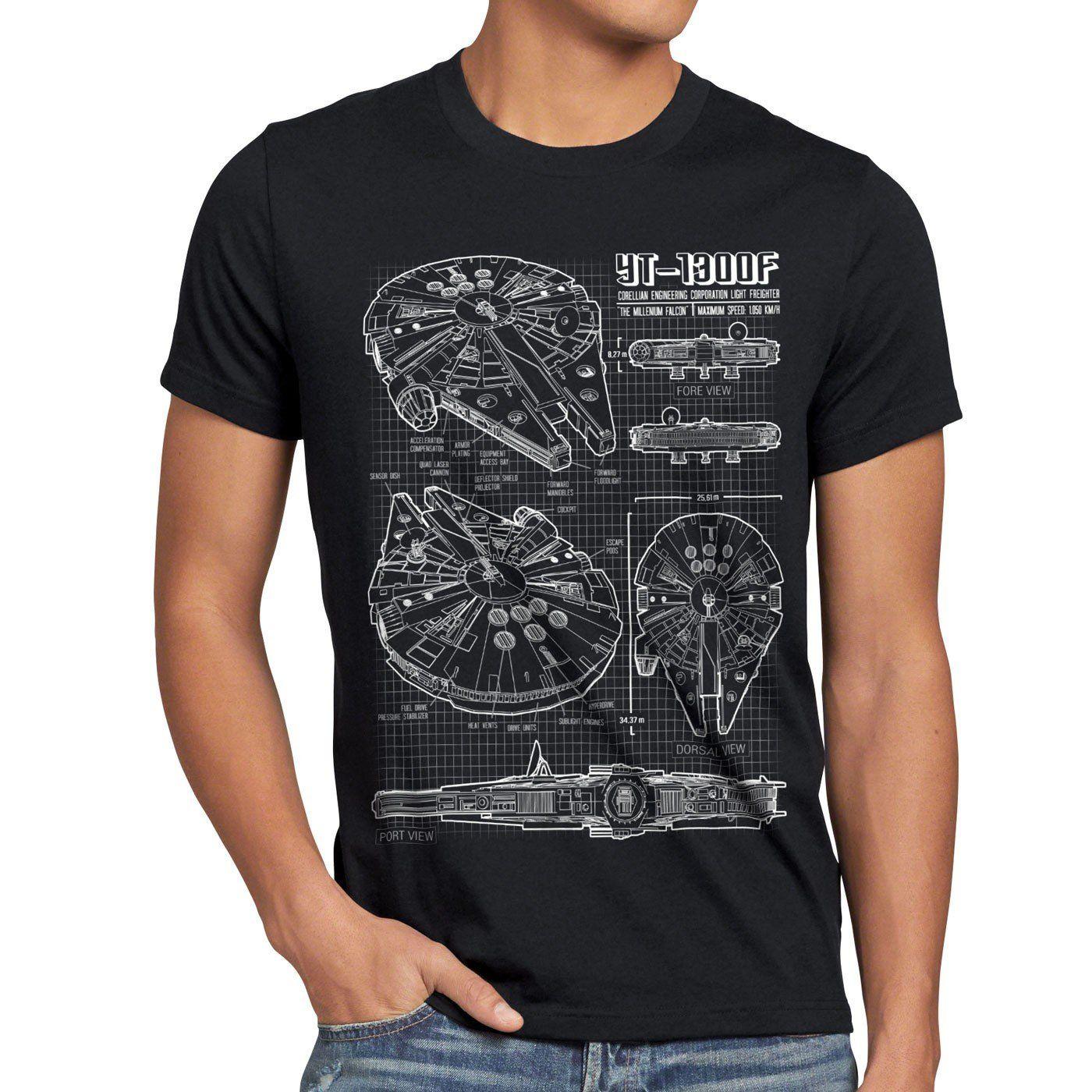 Style3 millennium falcon mens t shirt blueprint grexlcolor style3 millennium falcon mens t shirt blueprint grexlcolorblack malvernweather Choice Image