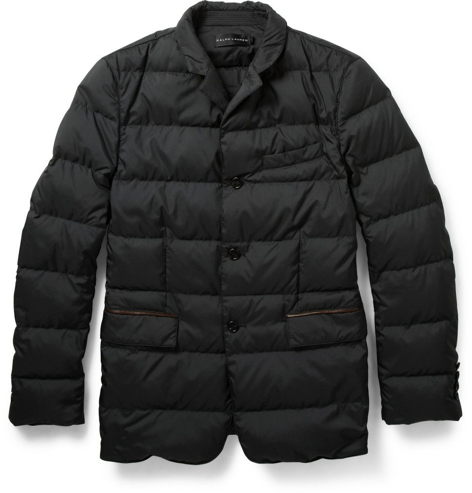 Ralph Lauren Black Label  Quilted Down Filled Jacket 995 dollars