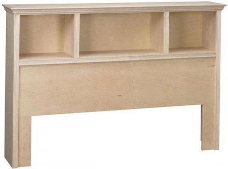 Bookcase Headboard Design More
